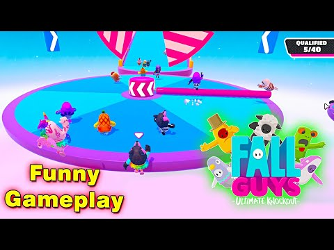 Fall Guys: Ultimate Knockout | Funny Gameplay by Bollywood Gaming