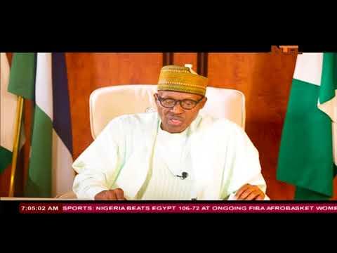 President Muhammadu Buhari's National Broadcast (видео)