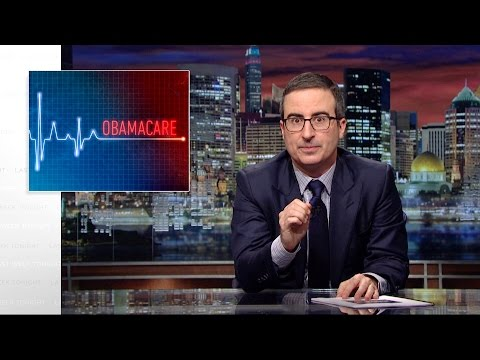 John Oliver on Obamacare