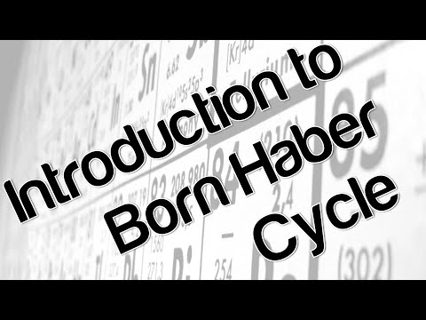 Introduction to Born Haber Cycle