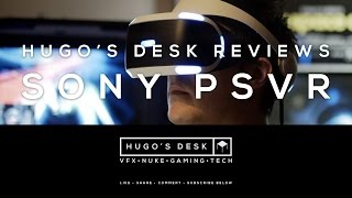 As requested by many, here is my personal and independent review of the Sony PSVR for the PS4 and it's first games. Enjoy.Thanks so much for watching.As always: like, share, comment and subscribe to my channel.Follow Hugo's Desk for more!----------------------------------TWITTER: https://twitter.com/HugoCGuerraINSTAGRAM: https://www.instagram.com/hugocguerra/LINKEDIN: https://www.linkedin.com/in/hugoguerraFACEBOOK: https://www.facebook.com/hugo.c.guerra/PATREON: https://www.patreon.com/HugoCGuerraAnd check my latest work as a Cinematic Director and VFX Supervisor:http://hugo-guerra.comThanks to IFIXT for the great Teardown:https://www.ifixit.com/Teardown/PlayStation+VR+Teardown/69341Music:George Street Shuffle by Kevin MacLeod is licensed under a Creative Commons Attribution licence (https://creativecommons.org/licenses/...)Source: http://incompetech.com/music/royalty-...Artist: http://incompetech.com/