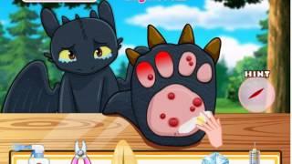 Video Pets games -  How To Train Your Dragon Toothless Claws Doctor Toothless Claws Doctor MP3, 3GP, MP4, WEBM, AVI, FLV Juli 2018