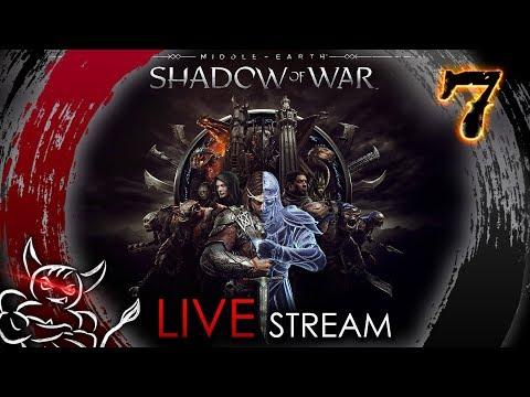 Middle Earth Shadow of War - [#7]  Горгорот Hard ! (видео)