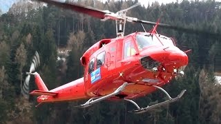 Video Bell 212 Twin Huey engine start and take off from Karres Heli Austria base MP3, 3GP, MP4, WEBM, AVI, FLV Desember 2018