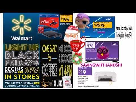 Walmart Black Friday Full AD 2018
