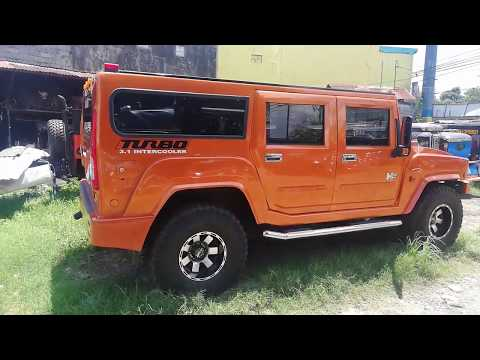 Hummer and Wrangler REPLICAS Prices ll JEEP ll MODIFIED JEEPNEYS