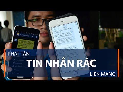 Phát tán tin nhắn rác liên mạng | VTC1 - Thời lượng: 62 giây.