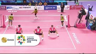 Video Highlight Pertandingan Sepak Takraw INA vs MALAYSIA | Asian Games 2018 MP3, 3GP, MP4, WEBM, AVI, FLV Oktober 2018