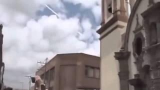 Impactante caída de meteorito en San Luis Potosí, México
