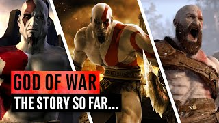 Video God of War | The Story So Far... Everything You Need To Know (2018) MP3, 3GP, MP4, WEBM, AVI, FLV Agustus 2019