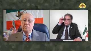گفتگوی سیمای پادشاهی ایران با مرتضی موسوی ـ اداره کل هشتم ساواک ـ بخش یک