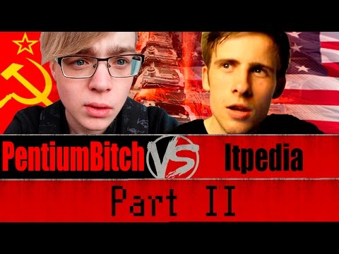 Itpedia vs PentiumBitch на стриме Банана (Про СССР)