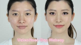情人节约会妆容教学 Valentine's Day Makeup