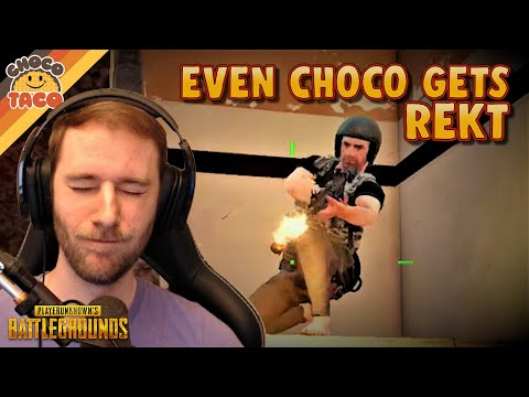 Even chocoTaco Gets Rekt ft. Swagger - PUBG Duos Gameplay