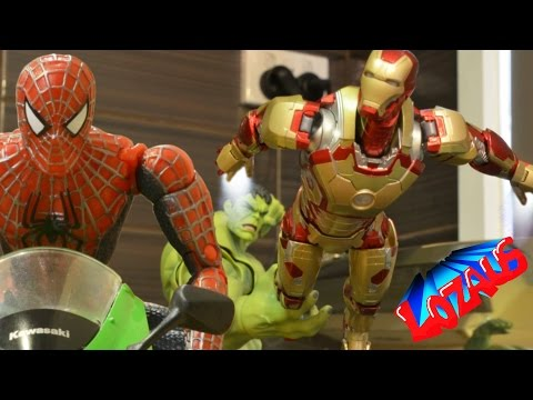 IRONMAN STOP MOTION Action Video Part 3 Trailer