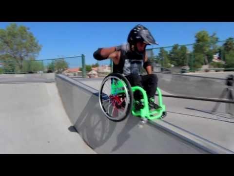 Triky na invalidnom vozíku