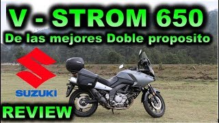 3. Suzuki V-Strom 650 ABS   Review en Español 😎 Blitz Rider fT - Mauricio Treviño