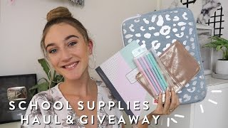 open for more info on my back to school supplies haul and giveaway for 2017!giveaway rules:1. you MUST be subscribed to my channel2. comment down below where you are from and a video you would like to see from me3. you are only allowed to comment ONCEextra entries:1. follow me on instgram @misscharlottebeauty1 2. add me on snapchat @misscharbeauty1 3. comment your usernames with your comment to get the extra entries!good luck and ily all xoxo-----------------------If any businesses would like to work with or collaborate with me contact me at Askmisscharlottebeauty1@gmail.com and if possible please put 'Business' or 'Collab' in the Subject Title line so I can get to you email quickly and respond ASAP! Thankyou! xx------------------------my links Instagram: Misscharlottebeauty1Snapchat: Misscharbeauty1Twitter: MissCharBeauty1-----------------------about me name: Charlotteeditting Software: Final Cut Pro Xcamera: Canon EOS 600dlighting: Soft Boxes or Natural where I live: Australia-------------------I love you all so much! charlotte xoxo -------------------disclaimer: this video was not sponsored! All opinions are my own and no one has influenced or paid me to say them xx