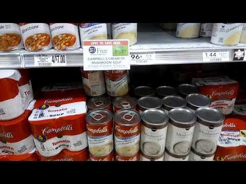 Campbells Cream Of Chicken Or Mushroom Soups 68¢ At Publix