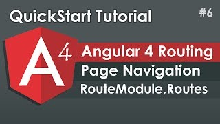Angular 4 Tutorial: Routing and Navigation Example