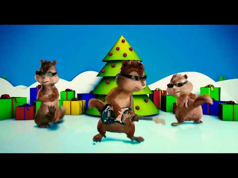 Alvin And The Chipmunks: (2007) - Christmas Don't Be Late. (HD)
