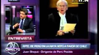 Peru perdio en La Haya segun analista peruano