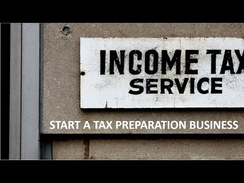 Canadian Personal Tax Returns – Starting your own tax preparation business