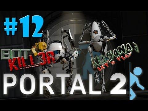 Let's Play Together Portal 2 Coop #12 – Lachen ist Gesund