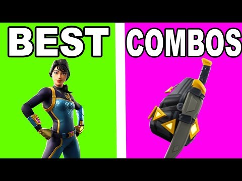BEST SKIN BACK BLING COMBOS WITH THE NEW BOLT SKIN!!!   Best combos with THE BOLT SKIN!