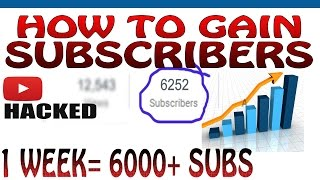 """explained how to gain subscribers fast in hindi. Getting indian youtube subscribers is very easy. I gained 6000 subs in this video just by a simple trick. I f you want to crack the youtube algorithm, you can do the same.the real description starts below.watch the next part -  https://www.youtube.com/watch?v=cSS4yZvH0i0while going through youtube,one day i discovered all the bakchodi channels.idk if they think that they can hack youtube by doing bakchodi.one thing is for sure that indian youtubers love bakchodi,the only thing that comes to their mind when they think of making a video is """"BAKCHODI""""i was smart enough to crack the youtube algorithm and GAINED MORE THAN 6000 SUBSCRIBERS( 6252 to be exact).after watching this video if you feel like killing yourself,then please don't do that.rather click on this link https://www.youtube.com/watch?v=S5GbPsqCGCsand then kill yourself.P.S- had to make this video coj i have to use a part of this video in the next video.Thanks for watching ;)intro song - """"Pull the trigger"""" by RUSSlink https://www.youtube.com/watch?v=wjh2gav5a48"""