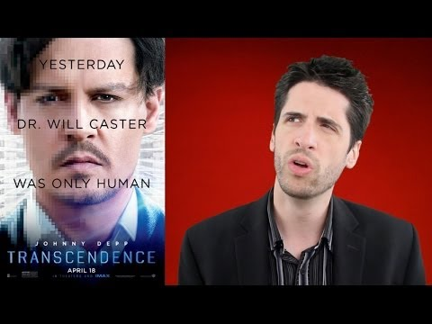 Jeremy Jahns gives Transcendence a double dose of douche movie image