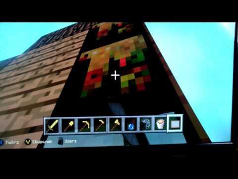 minecragt xbox one edidion wjoska (видео)
