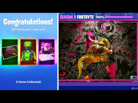 Collecting ALL 100 Fortbytes... this HAPPENED!