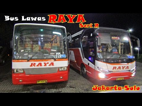 Bus Tua Lawas !! Persneling Seret!!, Trip By Bus Lawas Raya Jakarta - Solo 10 Jam