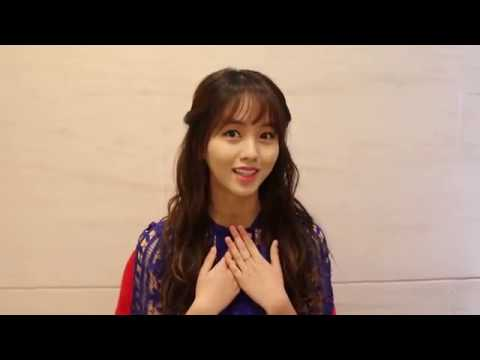 [Korea.com Exclusive] Kim So Hyun says hello to Korea.com fa…