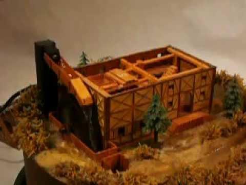 Die Wassermühle aus Holz 2006 3 Test