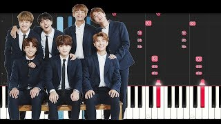 Video BTS - BEST OF ME (Piano Tutorial) MP3, 3GP, MP4, WEBM, AVI, FLV April 2018