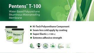 Pentens T-100 PU Bituminous Waterproofing Manbrane