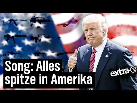 Alles spitze in Amerika - Ein Song für die USA | extra 3