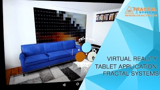 Virtual Reality Tablet Application - Fractal Systems