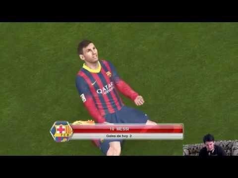 Barcelona Vs PSG - Partido Online por el Ranking Probando la Actualización, Gameplay Xbox PES2014