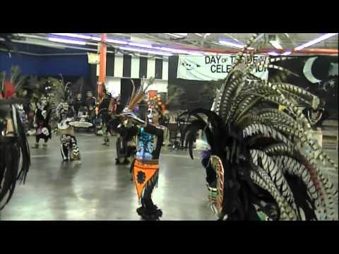 Quetzalcoatl de Memphis and Danza Azteca Ilhuicamina de Nashville Dia de Muertos 2013 3`