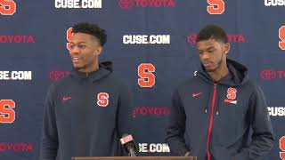 Players Press Conference | Selection Sunday