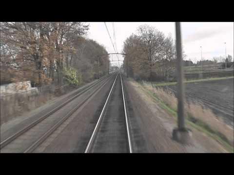 Meerijden met de machinist van Rsd naar Zl via Amsterdam CS (full version) (видео)