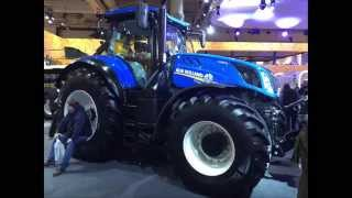 Traktor New Holland T7 290 Auto Command, Agritechnica 2015