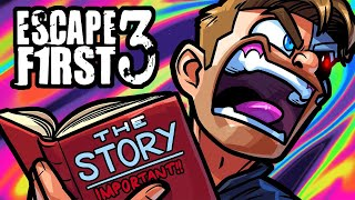 Escape First Funny Moments - The Abandonded School Puzzle! by Vanoss Gaming
