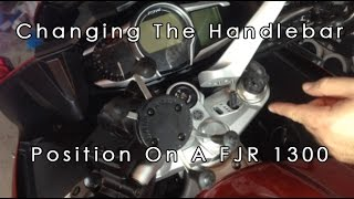 7. How To Change The Handlebar Position On A Yamaha FJR 1300 ES