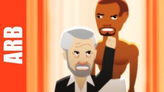 Most Interesting Man vs. Old Spice Guy - ANIMEME RAP BATTLES (NSFW)
