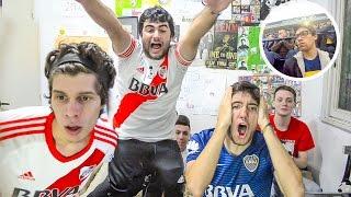 Boca 1 River 3  Superclásico Torneo Argentino 2017  Reacciones de amigos