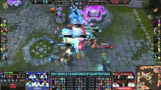 C9 vs SSB - Do or Die Epic Ending - LoL S4 WorldsLeague of Legends LCS HighlightsLike us on Facebook : http://on.fb.me/1k7FA5oFollow us on Twitter : http://bit.ly/1pFYvk4Google+ : http://bit.ly/1rGSdDCIf you want to see more League of legends highlights, Please hit the subscribe button for more entertainment. :)Partner with Freedom! ➜ http://www.freedom.tm/via/LoLLCSHighlights07 - Be free.Get more views!➜ http://www.freedom.tm/grow - Grow with us.Become a network!➜ http://www.freedom.tm/network